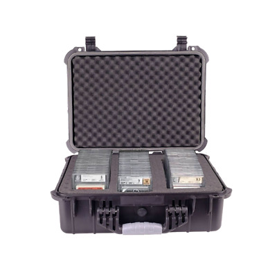 Graded Card Storage Box for PSA BGS SGC One Touch Heavy Duty Weatherproof Case