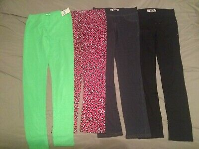 NEW Lot of 4 Girls legging Justice and Lee
