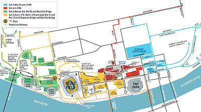 Pittsburgh Steelers v Buffalo Bills 12/15 Reserved Parking Pass - Red Lot 6