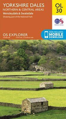 OS Explorer OL30 Yorkshire Dales - Northern & Central area... by Ordnance Survey