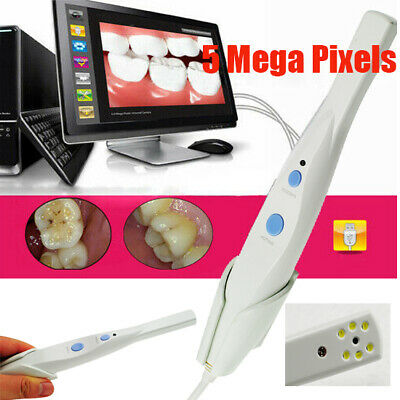 Dentist Dental HD USB Oral Intraoral Camera 5 Mega Pixels 6-LED Endoscope HK790