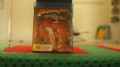 Indiana Jones And The Raiders Of The Lost Ark (Blu-ray, 2013)