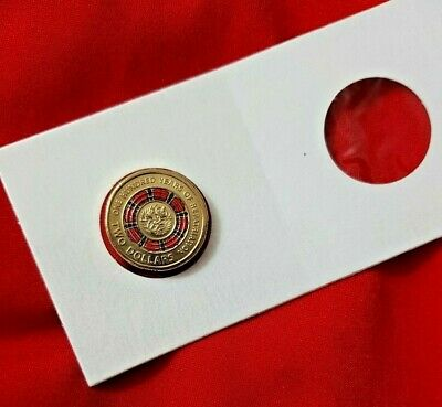 2019 $2 Coin 100 years of REPATRIATION BRINGING THEM HOME - 1x coin from Satchel
