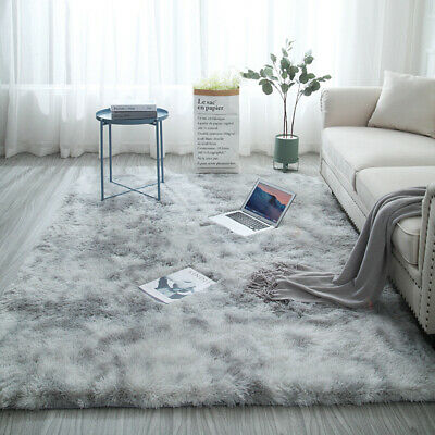 Hairy Carpet Balcony Round Rectangular Carpet Faux Fur Carpet Bedroom Mat Soft