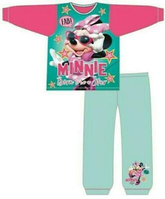 Girls Toddler Disney Minnie Mouse Long Pyjamas Set