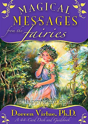 """Magical Messages From The Fairies"" By Doreen Virtue (44 Oracle Cards)"