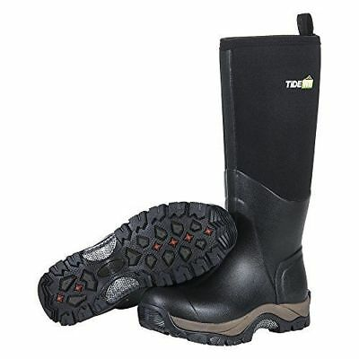 TideWe Muck Boots Men and Women, Waterproof Durable Insulated Neoprene Muck Boot