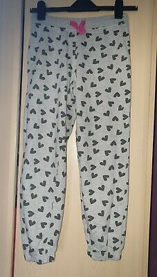 girls grey jogging bottoms age 9-10 years