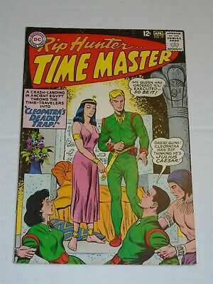 Rip Hunter Time Master #19 Vf- (7.5) Dc Comics April 1964**