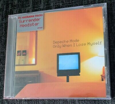 """Depeche Mode Only When I Lose Myself CD single (CD5 / 5"""") UK Like New Condition"""