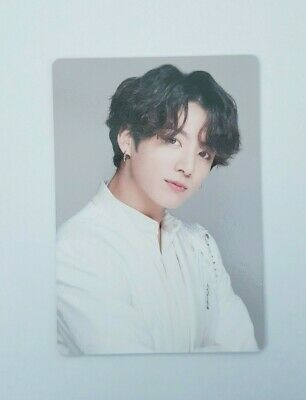"""BTS JUNGKOOK Official Concert LOVE YOURSELF:SPEAK YOURSELF """"THE FINAL"""" Photocard"""
