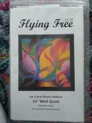 """Flying Free Carol Better Galley 30"""" Wall Quilt Pattern only"""