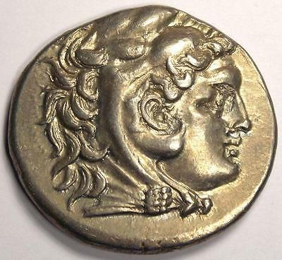 Alexander the Great III Macedon Tetradrachm Coin. Mesembria, 336-323 BC. Nice XF