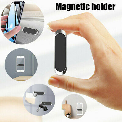 Mini Strip Magnetic Car Phone Holder Stand For Cell Phone Universal Magnet Mount