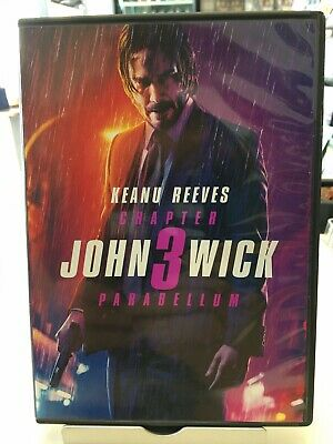 John Wick: Chapter 3 - Parabellum (2019, DVD) Keanu Reeves, Halle Berry
