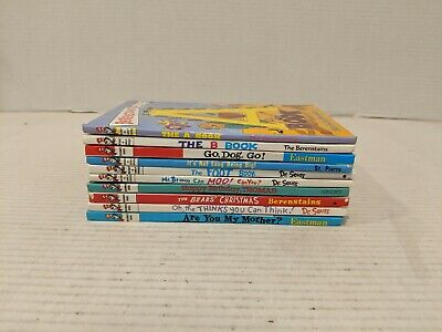 LOT OF 10 DR. SEUSS BOOKS Bright and Early  Beginner Books No Duplicates and FS!