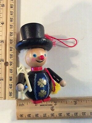 Steinbach Ornament - Chimney Sweep with Ladder and Brush