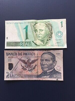 Circulated Various Nations Bank Notes. Ideal For An Avid Note Collector.