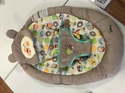 Disney Baby Winnie The Pooh Bouncer, Dots and Hunny Pots Seat Cover Only