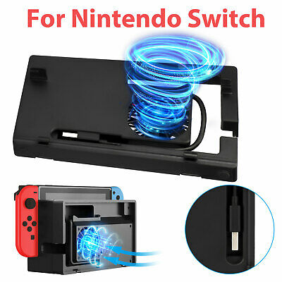 Vertical Stand For Sony PS4 with Cooling Fan 2 Controller Charging Dock Station