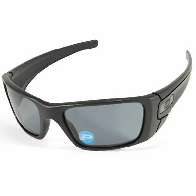Oakley Fuel Cell POLARIZED Sunglasses - Polished Black Grey - 9096-05 60-19