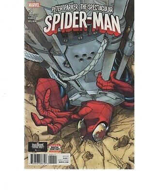 Peter Parker The Spectacular Spiderman  4 ( 2017 Series )  Marvel Comics