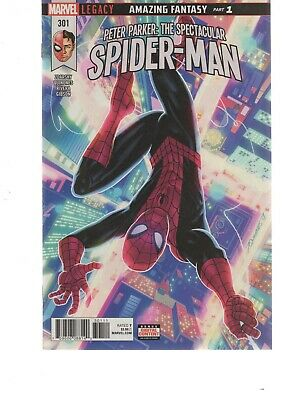 Peter Parker The Spectacular Spiderman 301 ( 2017 Series ) Marvel Legacy Comics