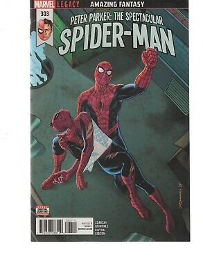 Peter Parker The Spectacular Spiderman 303 ( 2017 Series ) Marvel Legacy Comics