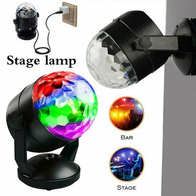 LED RGB Stage Light Disco Party DJ KTV Decor Outdoor Garden Lamp Laser Projector