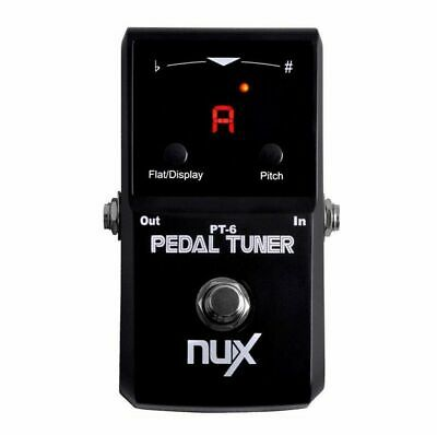 NU-X Core Stompbox Series Polyphonic Strum Guitar Tuner Pedal