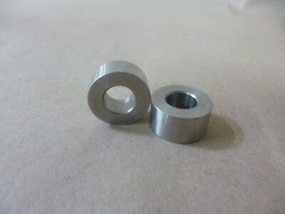 """1/2"""" ID X 7/8"""" OD X 1/2"""" TALL STAINLESS STEEL STANDOFF / SPACER / BUSHING 2Pc"""