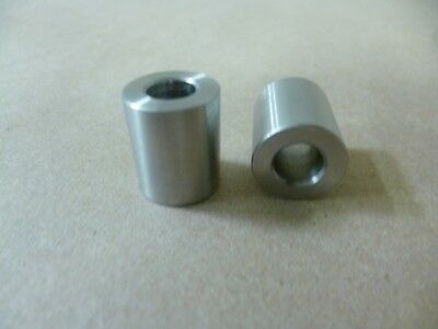 """3/8"""" ID X 3/4"""" OD X 7/8"""" TALL STAINLESS STEEL STANDOFF / SPACER / BUSHING 2Pcs"""
