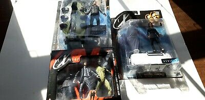 Macfarlane toys The Xfiles bundle Agent Scully, Agent Mulder and trio set NIB