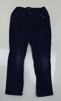 Sw721 Baby Girls Denim Trousers Age 24-36 Months