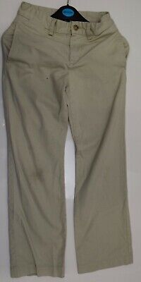 Sw741 Polo Ralph Lauren Boys Beige Chino Trousers Age 10 Years