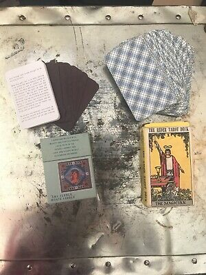 The Rider Tarot Deck Cards & Gifts Of The Goddess Complete Tarot deck