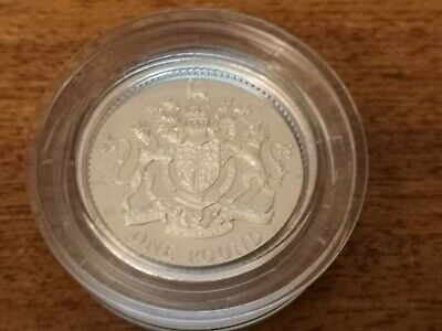 2008 United Kingdom SILVER Proof one pound £1 coin - 9.5g sterling