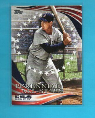 Ted Williams   2019 Topps Update Perennial All-Stars  #2 Red Sox