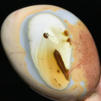 Top NATURAL POLISHED POLYCHROME JASPER From Madagascar 200g 70mm A101148