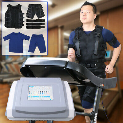 Pro EMS Electronic Muscle Simulation Micro Current Suit Body Slimming Machine