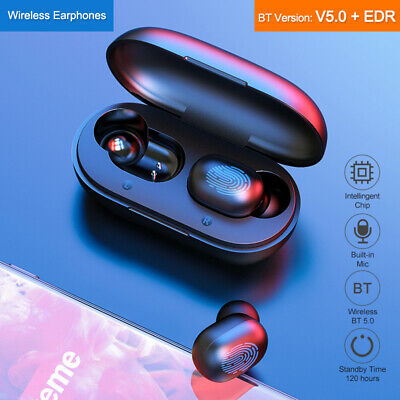 2019 Touch Control Bluetooth Headphones Wireless Earbuds Headset With Microphone