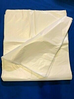40L Swing Bin Liners HDPE White 40 Litre Choice of quantity