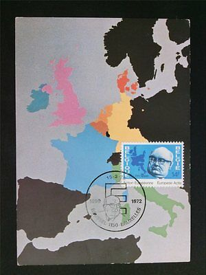 BELGIEN MK 1978 EUROPA CEPT MITLÄUFER MAXIMUMKARTE MAXIMUM CARD MC CM c6679