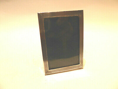 English Sterling Silver square Picture Frame