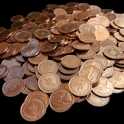 HALF PENCE Decimal ½p Coins - Clean Shiny Quality - Bulk Craft Jewellery Job Lot