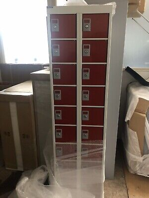 20 Door Personal Effects Lockers New Wrapped