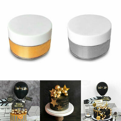 Lustre Dust Edible Sugarcraft Food Cake Colour Powder Decorate Tint 5g Safe X3Y7