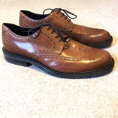 Jeffery West Autograph Wingtip Brogue Shoes Size 10 Made In Italy Worn Once M&S
