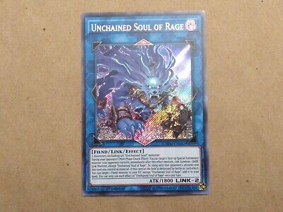 Near Mint, Unchained Soul of Rage - CHIM-EN043 - 1st Edition  ~FastTrack~