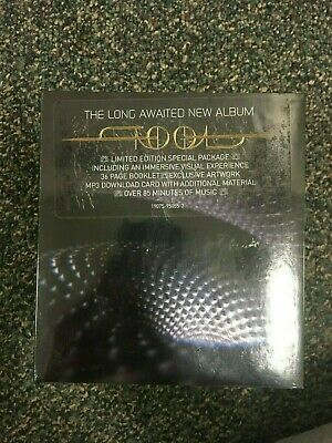 TOOL FEAR INOCULUM Limited Edition Trifold CD HD Deluxe 2019 *IN HAND* BRAND NEW